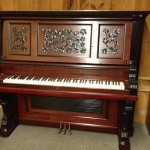 Restored vintage upright