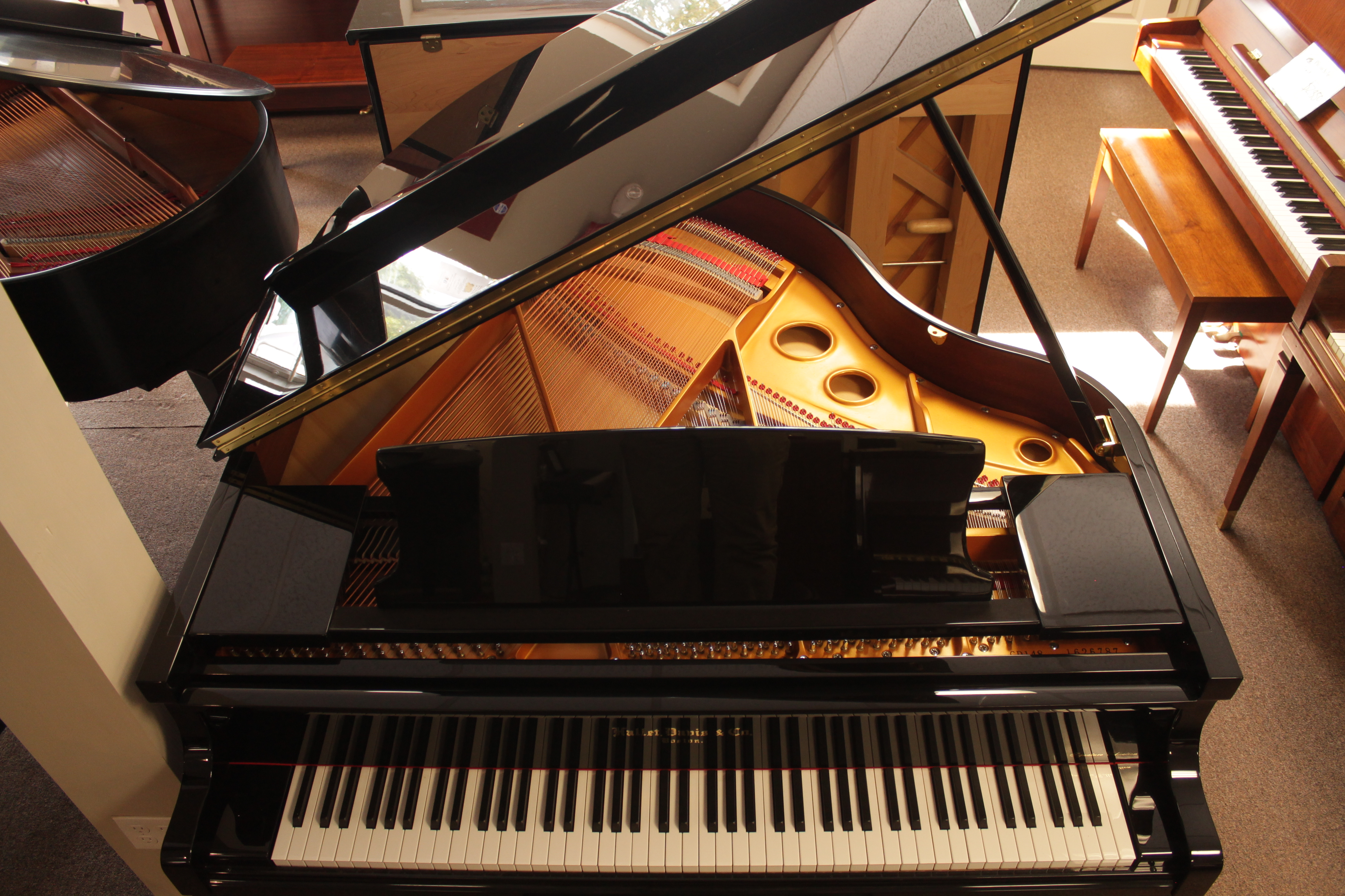 New Hallet Davis Baby Grand With Qrs Wifi Player System