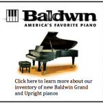 New Baldwin Baby Grand and Upright Pianos in Stock