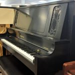 "2001 Baldwin Concert Vertical Upright Piano Satin Ebony 52"" $7,250"