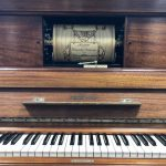 Restored Steinway player upright piano with tons of rolls!