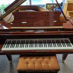 Schimmel Baby Grand Piano model C169 Polished Mahogany in Pristine Condition