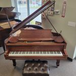 Steinway model O Baby Grand Piano with wifi QRS Player Piano System